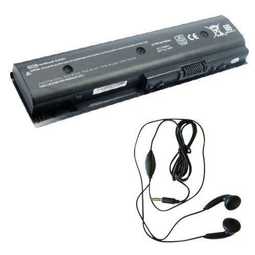 amsahr dv4t5300 – 03 Ersatzbatterie fuer HP DV4 DV4: 5300 CTO, 5301tu, 5302tx, 5303tx, 5304tx, 5305tx – zawierają Stereo Słuchawki douszne Czarny, DV4T5300-03