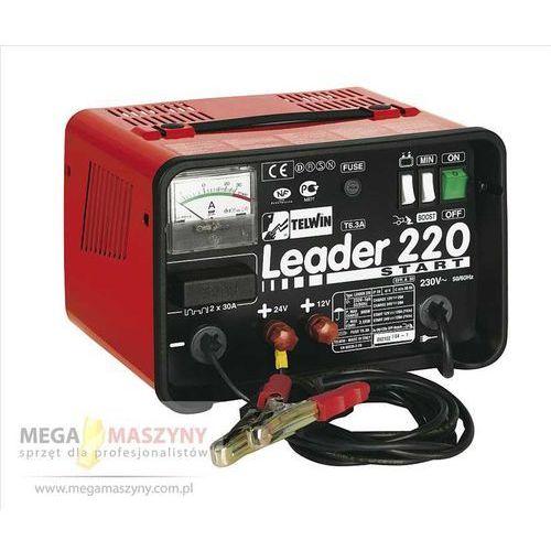 TELWIN Prostownik do ładowania i rozruchu Leader 220 - produkt z kategorii- Prostowniki spawalnicze