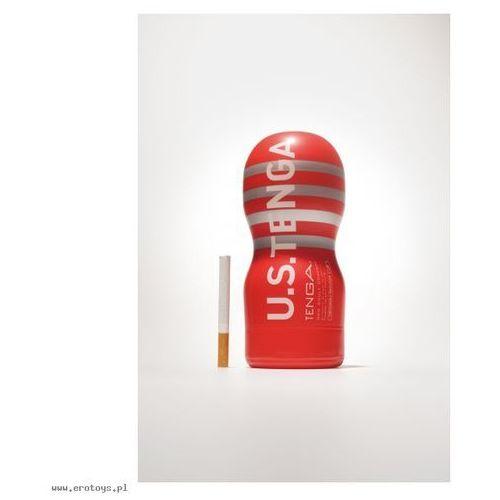 Tenga Onacup Deep Throat U.S Red Masturbator imitujący głębokie gardło czerwony (4560220550120)
