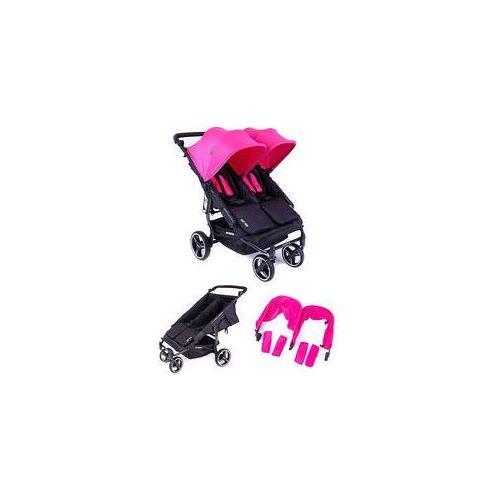 W�zek bli�niaczy Easy Twin 3.0S + Zestaw Kolorystyczny Baby Monsters (pink)