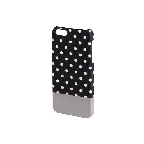 Etui design line iphone 5 kropki czarny marki Hama