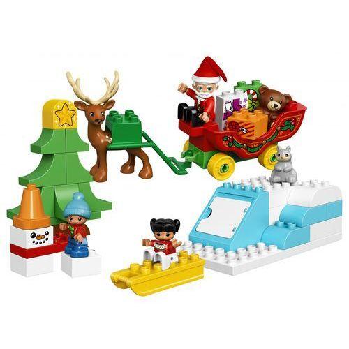 Lego DUPLO Zimowe ferie świętego mikołaja santa's winter holiday 10837