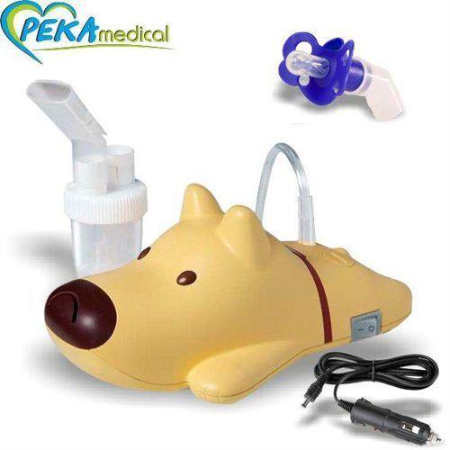 Inhalator tłokowy - Rossmax Nl 60Q (Piesek) - Smoczek Gratis (4715139610100)