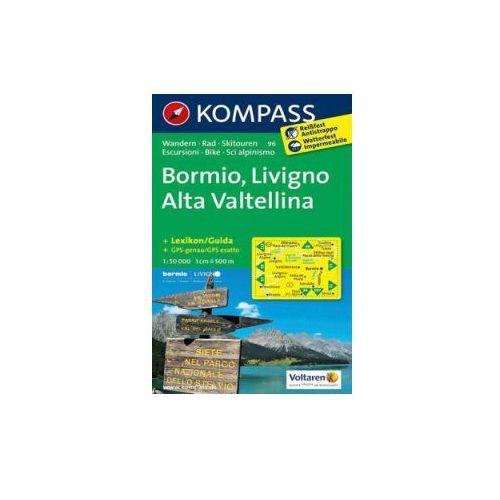 Bormio, Livigno, Alta Valtellina, 1:50 000