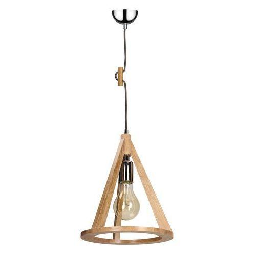 SPOT-LIGHT KONAN Lampa wisząca Dąb/Chrom/Antracyt 1XE27-60W 1071170, kolor dąb/chrom/antracyt