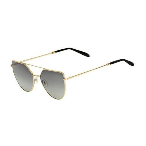 Okulary Słoneczne Spektre Off Shore Doppio OSD01BFT/Gold Glossy (Gradient Smoke), kolor żółty