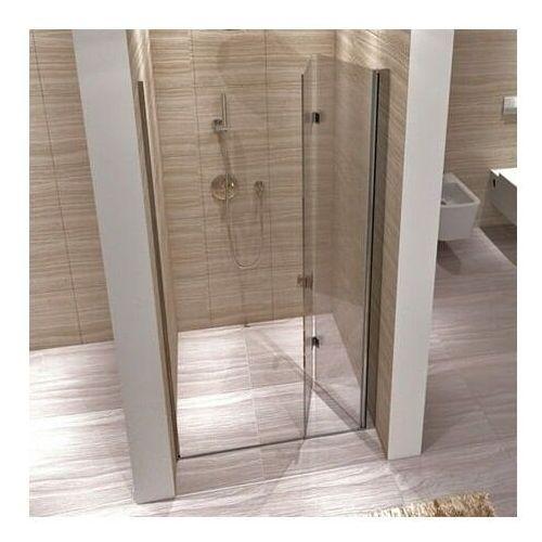 Rea myspace n drzwi prysznicowe 80x190, profile chrom, szkło transparentne easyclean
