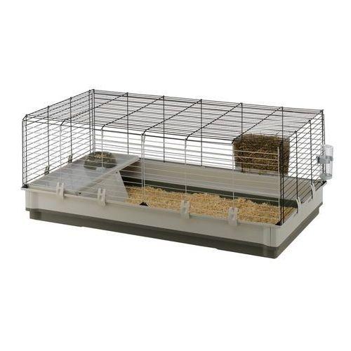 Ferplast Krolik Extra Large XL 120 składana klatka dla świnki, królika z wyposażeniem