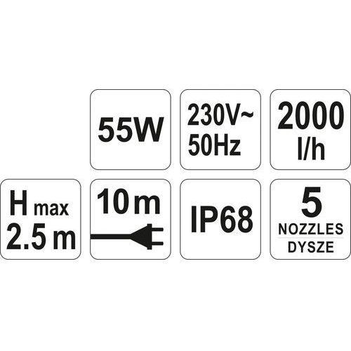 Flo Pompa fontannowa 55w 2000 l/h / 79931 / - zyskaj rabat 30 zł (5906083799310)
