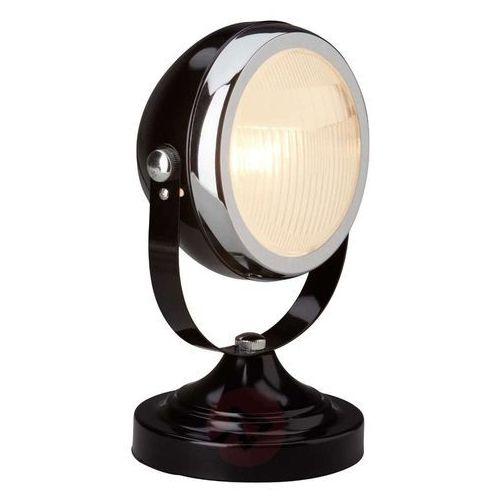 Brilliant Rider lampa stołowa Czarny, 1-punktowy, 04347/06