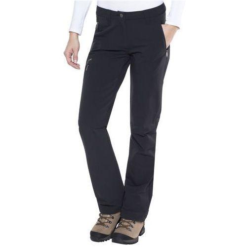 Vaude strathcona spodnie długie kobiety czarny 34 2018 spodnie softshell