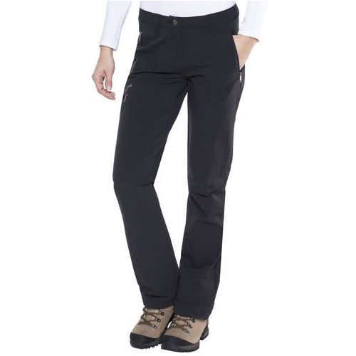 Vaude strathcona spodnie długie kobiety czarny 48 2018 spodnie softshell