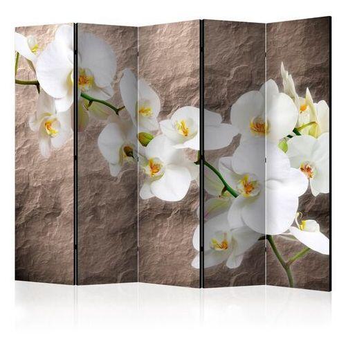 Parawan 5-częściowy - nieskazitelność orchidei ii [parawan] marki Artgeist