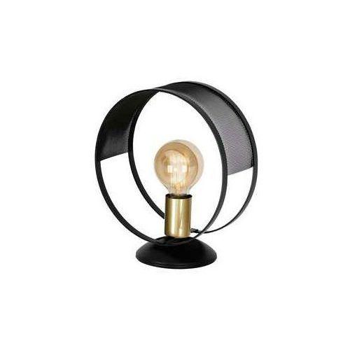 Luminex siner 699 lampa stołowa lampka 1x60w e27 czarny złoty