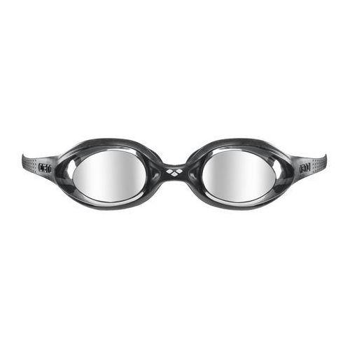 arena Spider Mirror Okulary pływackie Dzieci zielony/czarny 2018 Okulary do pływania (3468335391649)