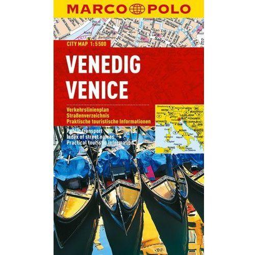 Venedig / Venice. City Map 1:15 000, książka w oprawie miękkej