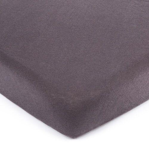 4Home jersey prześcieradło ciemnoszary, 90 x 200 cm, 90 x 200 cm, 222081