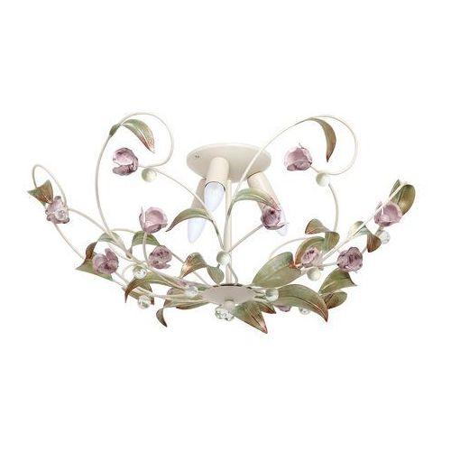 Żyrandol natynkowy rose 3xe14/60w/230v marki Luminex