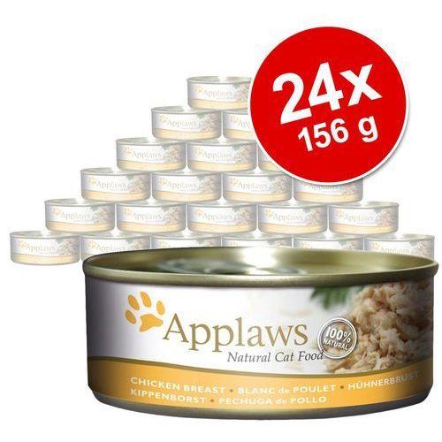 Megapakiet Applaws , 24 x 156 g - Filet z tuńczyka z krewetkami (5060481891226)
