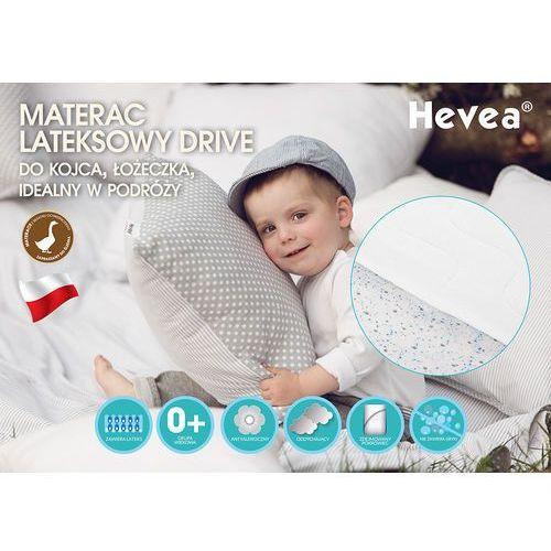 Materac lateksowy drive 140x70 marki Hevea