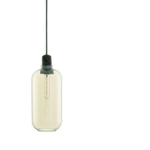 Normann copenhagen Amp - lampa wisząca szkło palone złoty/marmur wys.26cm