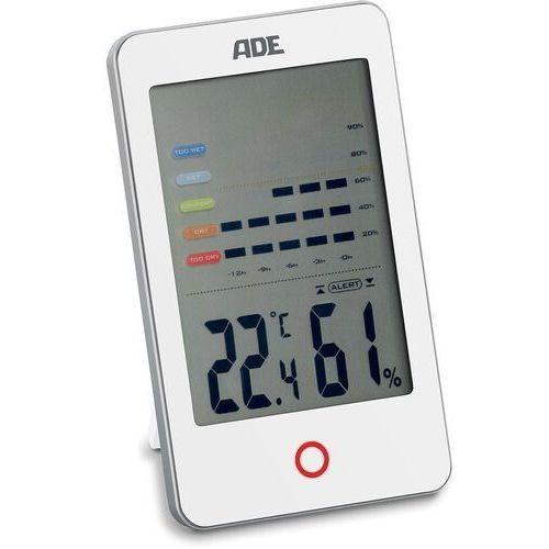 Elektroniczny higrometr i termometr do pomieszczeń biały (ad-ws 1700) marki Ade
