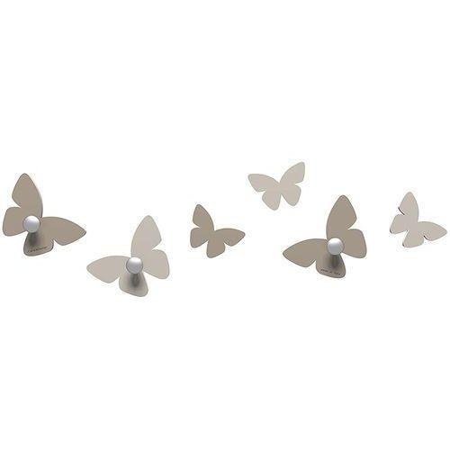 Wieszaczki ścienne millions of butterflies gołębi (50-13-2-13) marki Calleadesign