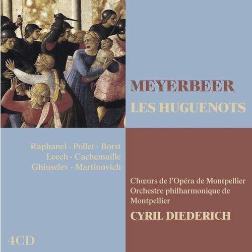 MEYE:LES HUGUENOTS - Raphanel,ghylaine/pollet,franc (Płyta CD), 2564662125