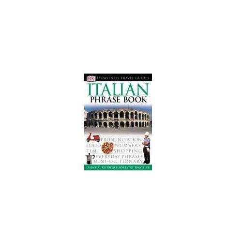 Włochy rozmówki Dorling Kinderslay Italian Phrasebook, oprawa miękka