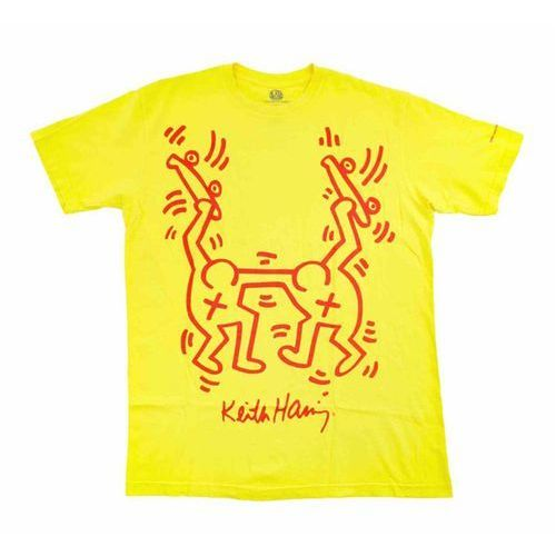 koszulka ALIEN WORKSHOP - Haring Rise Above Yellow (ZLUTA) rozmiar: S, 1 rozmiar