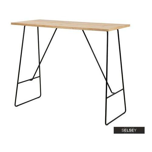 stół barowy klakar 127x58 cm marki Selsey