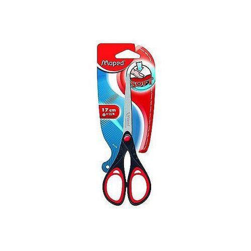 Nożyczki Essentials Soft 17cm symetryczne Maped 468210