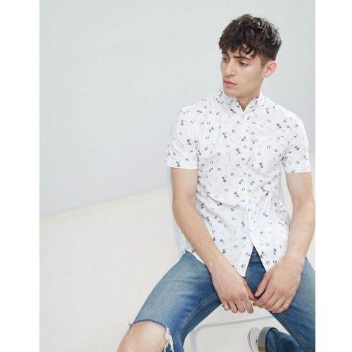 coney island short sleeve shirt - white marki D-struct