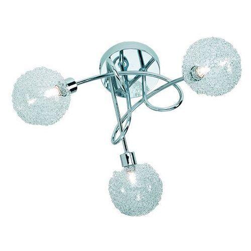 Trio rl wire r61323006 plafon lampa sufitowa 3x28w g9 chrom / transparentny
