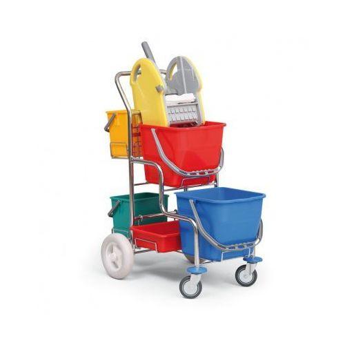 Profesjonalny wózek do sprzątania bez uchwytu na worek marki B2b partner