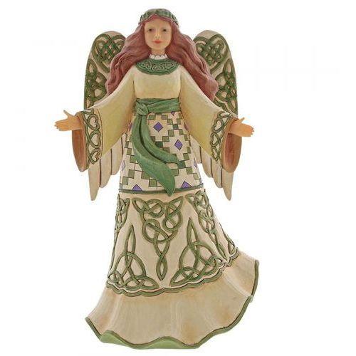 Anioł cudów miracles from moors to mountains (irish angel) 6003627 figurka dewocjonalia marki Jim shore