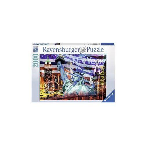 Ravensburger 2000 ELEMENTÓW New York Collage (4005556166879)