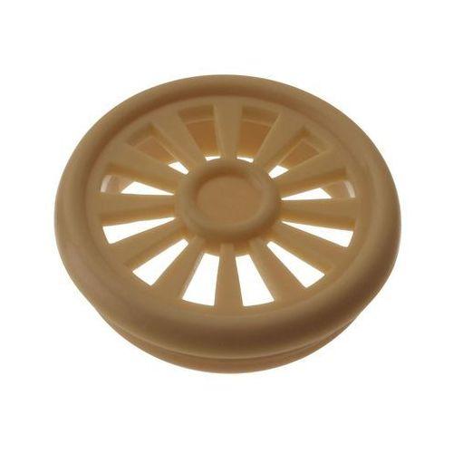 Hettich Wywietrznik do szaf 4 szt. meblowy / okrągły 4,5 x 0,85 cm (4008057024624)