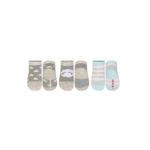 - skarpetki dziecięce (3-pack) marki Soxo