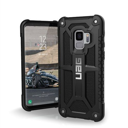 URBAN ARMOR GEAR UAG MONARCH ETUI PANCERNE SAMSUNG GALAXY S9 (BLACK), kolor czarny