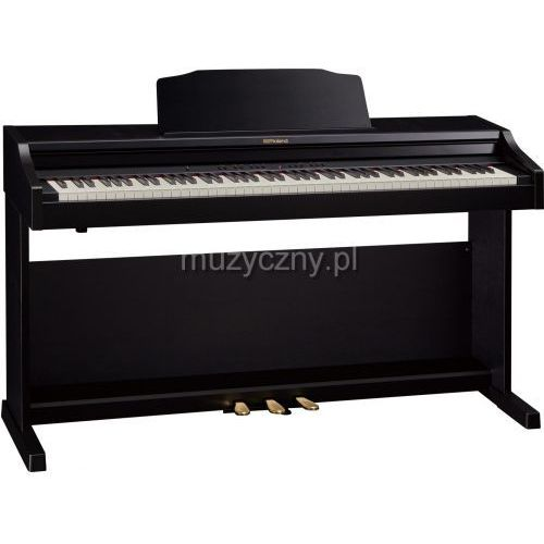 rp 501r cb pianino cyfrowe, czarne marki Roland