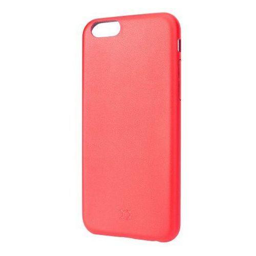 Etui XQISIT do Apple iPhone 6/6S iPlate Gimone Czerwony + Zagwarantuj sobie dostawę jutro! (4029948039480)