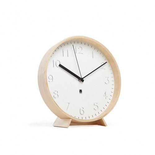 Zegar ścienny drewniany biały RIMWOOD Umbra, 118140-668