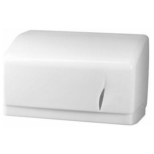 Podajnik na papier w roli Bisk biały (5901487038638)