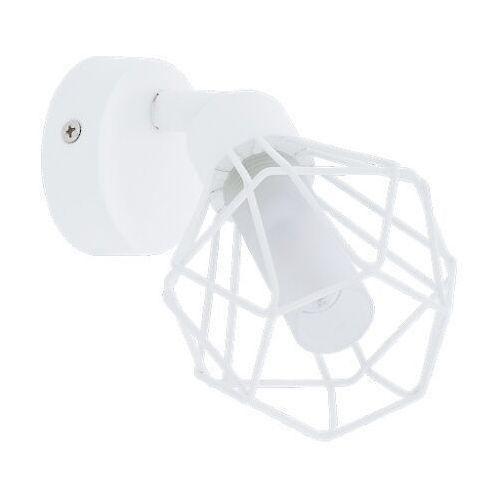 Kinkiet Eglo Zapata 1 98048 lampa ścienna druciana sufitowa spot 1x3W G9-LED biały (9002759980481)