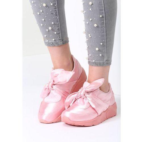 Różowe buty sportowe comort week marki Balada
