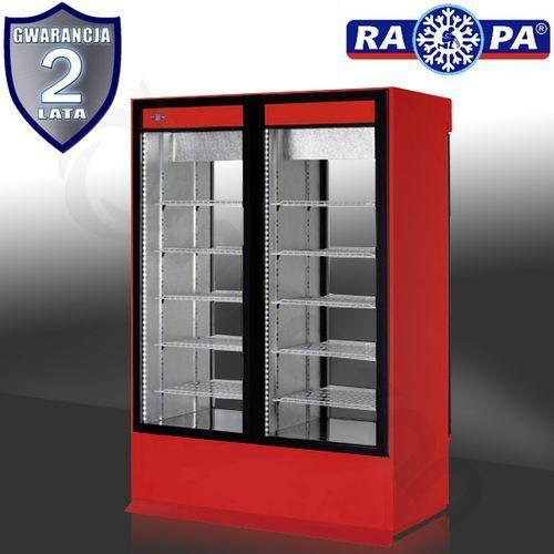 Szafa chłodnicza dwustronnie przeszklona RAPA SCh-2S 1600 1D
