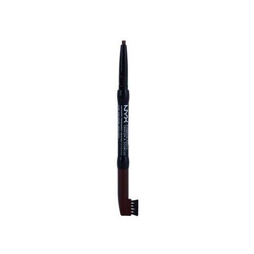 NYX Professional Makeup Auto Eyebrow kredka do brwi odcień 05 Dark Brown 0,25 g