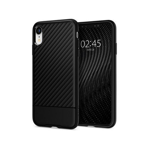 Etui Spigen Core Armor Apple iPhone Xr Black, kolor czarny
