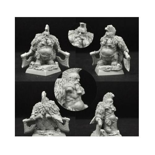 Scibor 28FM0197 - Wild Warrior Dwarf #2 28mm